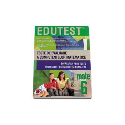 Sorin Bucur, Teste de evaluare a competentelor matematice. Invatarea prin teste predictive, formative si sumative clasa a VI-a