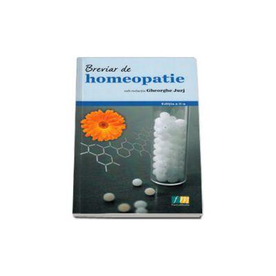 Breviar de homeopatie. Editia a 3-a, sub redactia lui Gheorghe Jurj