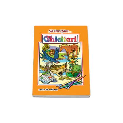 Sa invatam... Ghicitori - Carte de colorat, format A4