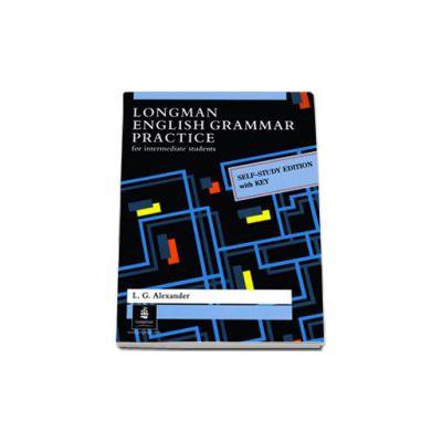 Longman English Grammar Practice With Key, for intermediate students