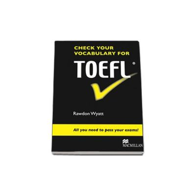 Check your vocabulary for TOEFL (Level: B2 Upper intermediate | American English)