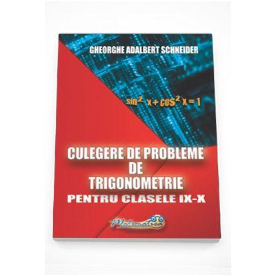 Culegere de probleme de trigonometrie pentru clasele IX-X (Schneider)