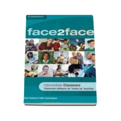 Chris Redston - Face2Face Intermediate Classware DVD-ROM (Single Classroom) - Pentru clasa a XI-a