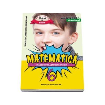 Mate 2000 pentru clasa a VI-a. STANDARD. Matematica - Algebra, geometrie (Editia a V-a, revizuita)