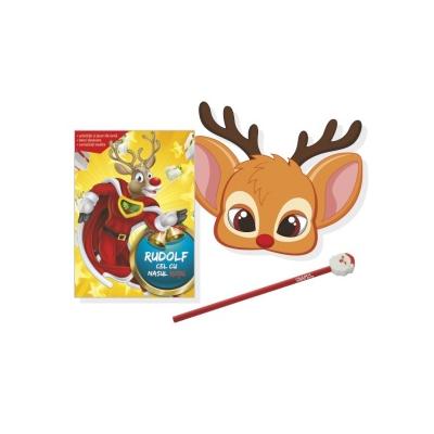 Rudolf cel cu nasul rosu - Activitati si jocuri de iarna, benzi desenare, curiozitati inedite