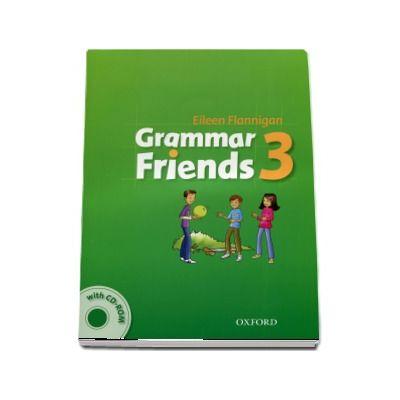 Grammar Friends 3: Students Book with CD-ROM Pack (Eileen Flannigan)