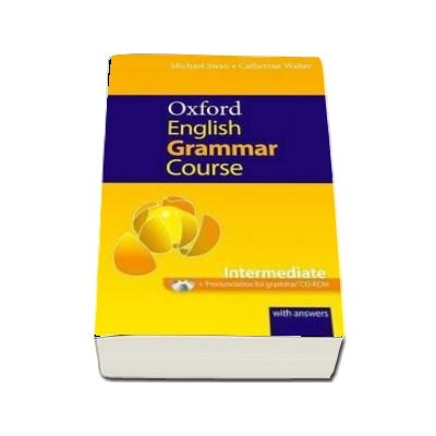 Oxford English Grammar Course. Intermediate. With Answers and CD-ROM Pack