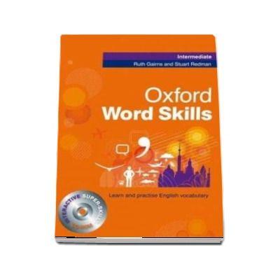 Oxford Word Skills Intermediate - Students Pack - with interactive super-skills CD-ROM (Ruth Gairns and Stuart Redman)