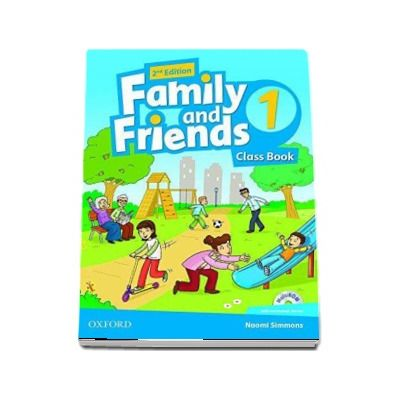 Family and Friends 1 Class Book and MultiROM Pack