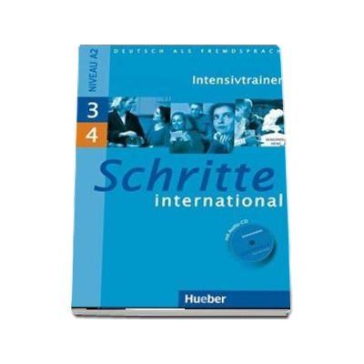 Schritte international niveau A1. Intensivtrainer mit Audio-CD zu Band 3 und 4 - Daniela Niebisch (Auxiliar recomandat pentru elevii de liceu)