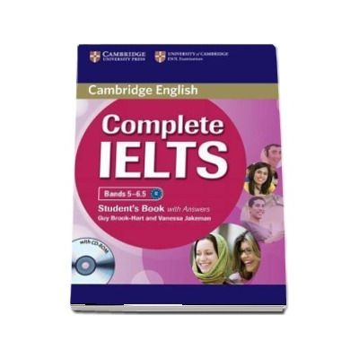 Complete IELTS Bands 5-6. 5 Student's Book with Answers with CD-ROM - Guy Brook-Hart, Vanessa Jakeman