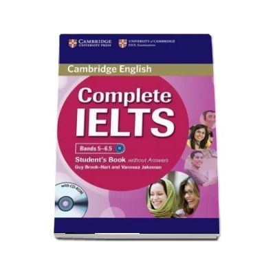Complete IELTS Bands 5-6. 5 Student's Book without Answers with CD-ROM - Guy Brook-Hart, Vanessa Jakeman