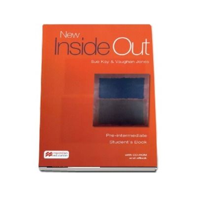 New Inside Out Pre-intermediate, student's book with ebook and CD - Sue Kay