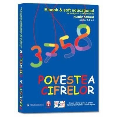 Povestea cifrelor - E-book and soft educational de invatare a conceptului de numar natural pentru 5-9 ani