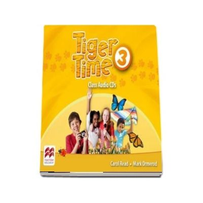 Tiger Time Level 3 Audio CD