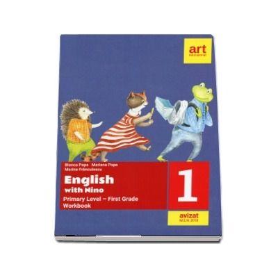 English with Nino. Workbook, clasa I (Bianca Popa)
