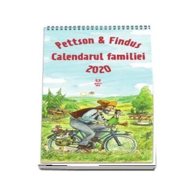 Pettson si Findus. Calendarul Familiei 2020 de Sven Nordqvist