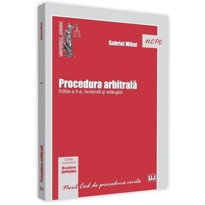 Procedura arbitrala. Editia a 2-a