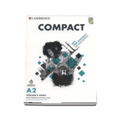 Compact Key for Schools Teachers Book with Downloadable Class Audio and Teachers Photocopiable Worksheets