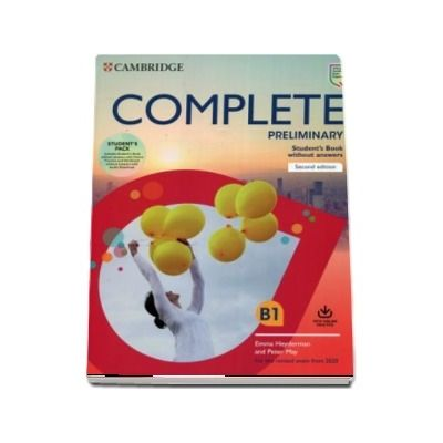 Complete Preliminary Students Book Pack (SB wo Answers w Online Practice and WB wo Answers w Audio Download): For the Revised Exam from 2020