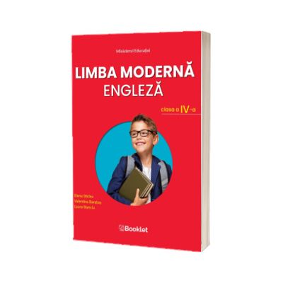 Limba moderna Engleza, manual pentru clasa a IV-a, Elena Sticlea, BOOKLET